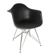 ALEA Armchair PP Black 4pcs