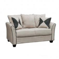 ASHLEY Sofa 2-Seater Fabric Sand 1pcs