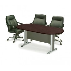 CONFERENCE Oval Table 240x120 Wenge 1pcs