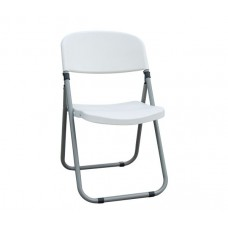 FOSTER Folding Chair PP White 6pcs