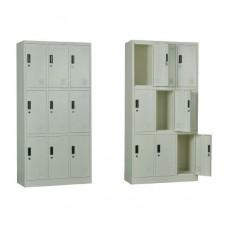 9-LOCKER Metal 90x40x185 White 1pcs