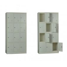 12-LOCKER Metal 90x40x185 White 1pcs
