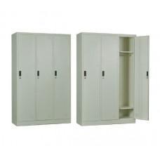 3-LOCKER Metal 115x45x185 White 1pcs