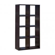 DECON Shelf Unit 8-Cells 80x39x155 Wenge 1pcs