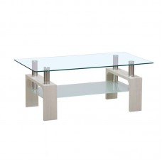 CAMERON Coffee Table White Wash 110x60 1pcs