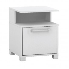 DECON Bedside 40x40x50 White 1pcs