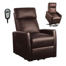 CORTINA Armchair Lift- Relax Pu Brown 1pcs