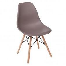 ART Wood Chair PP Sand Beige 4pcs