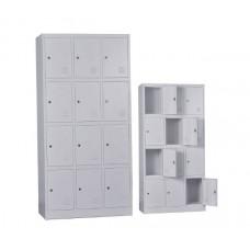 12-LOCKER Metal 90x40x185 Grey 1pcs