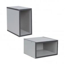 MODULE Open Box 30x30x17 Grey 1pcs