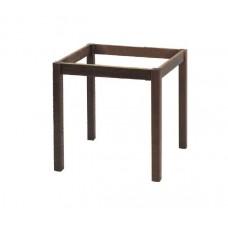 KAFENIOU Table Base 80x80 Impregnation Walnut K/D 1pcs