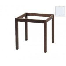 KAFENIOU Table Base 80x80 Impregnation Lacquer White K/D 1pcs
